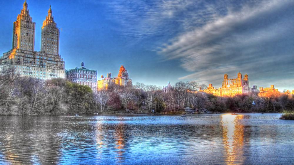 photoblog image Central Park Lake - New York City